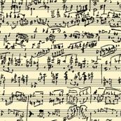Hand Written Music // Parchment