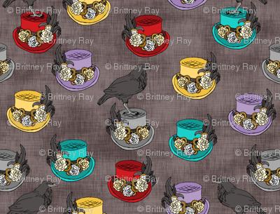 Steampunk Top Hats Plain