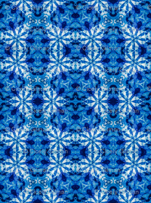 Indigo Kaleidoscope BRight