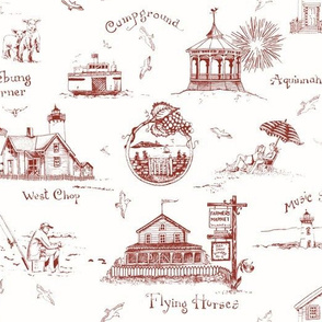 Martha's Vineyard Toile