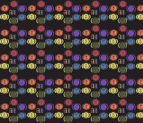 Chinese Lantern Pride-ch-ch-ch-ch-ch-ch-ch fabric by nijibeat on Spoonflower - custom fabric