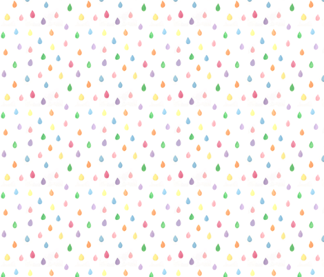 Drops fabric by phirefly_print on Spoonflower - custom fabric