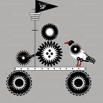 Steampunk Seagull
