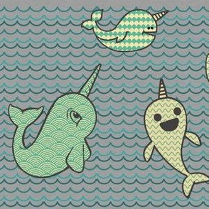 Happy Little Narwhals