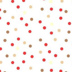 Sloppy Dots with Geranium