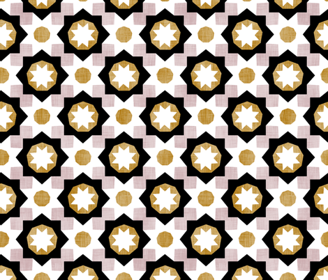 Fancy Tile fabric by pond_ripple on Spoonflower - custom fabric