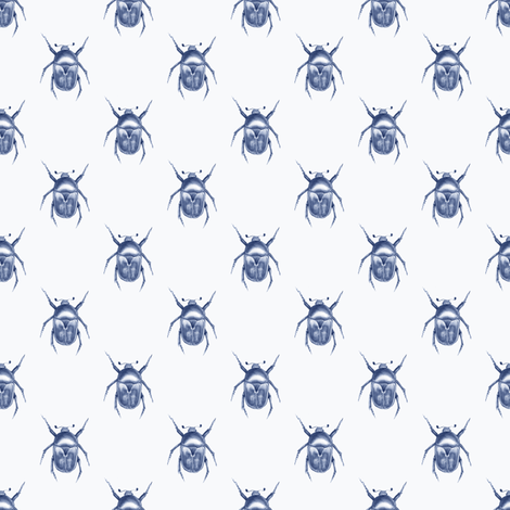 Pattern with bugs fabric by gribanessa on Spoonflower - custom fabric