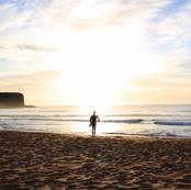 Surfing the Dawn Light