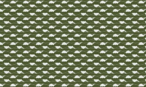 CH53 Helicopters in white offset pattern with dark green