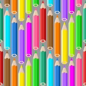 05190895 : coloured pencil zigzag