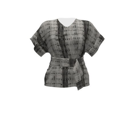 SFDesign a Day 11- Dyed Grey Shibori