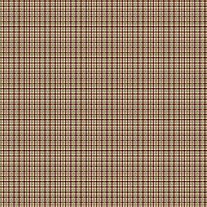 1:6 Plaid 2-Cherry Red, Maize Yellow, White