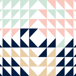 Triangle Quilt Top // Briar Woods