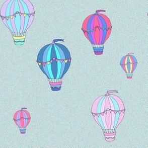 balloons - pencil sketch