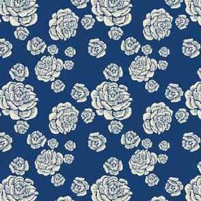 just roses - sand/ocean