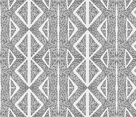 Tribal K fabric by karapeters on Spoonflower - custom fabric