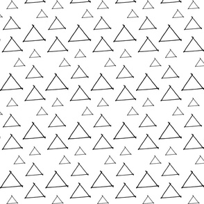 Handdrawn Triangles