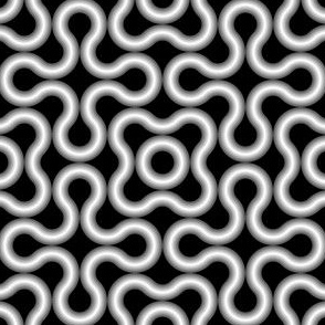 circle loop : metal pipe