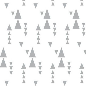 gray stacke triangles