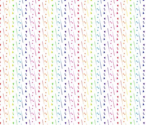 Rainbow Classic fabric by stephanierae_ca on Spoonflower - custom fabric