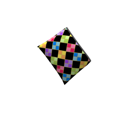 Harlequin Diamond Rainbow