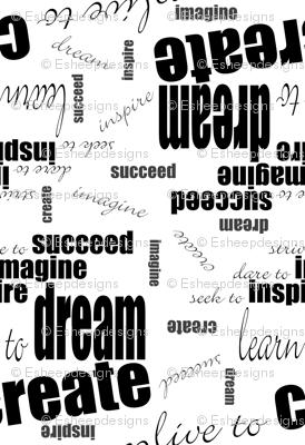 DICIS Phrases (Black & White)