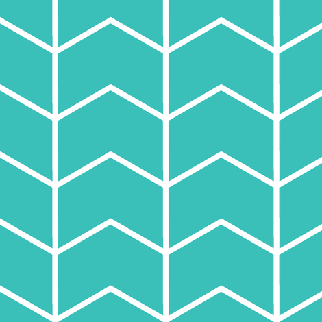 chevron // surfer's cove fabric by littlearrowdesign on Spoonflower - custom fabric