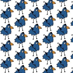 Business Bird - Blue