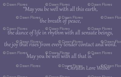 Christin Quote (Purple)