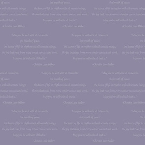 Christin Quote (Medium Purple)