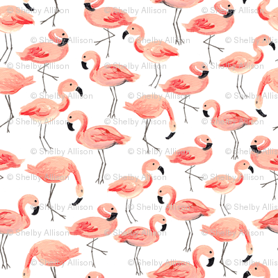 Flamingo Party (Tiny)