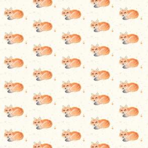Foxy Watercolor