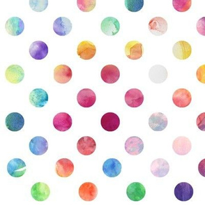 Watercolour Dots