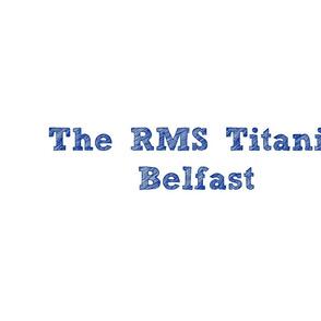 Titanic letterquilt