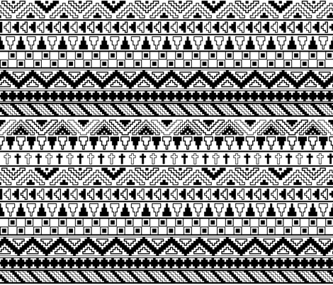 color your own tribal pattern wallpaper noondaydesign