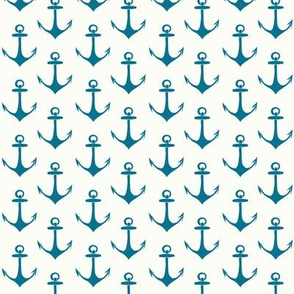 Anchors in Turquoise