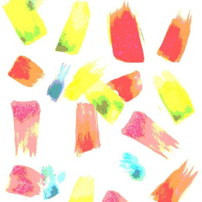 Watercolor on White Remix