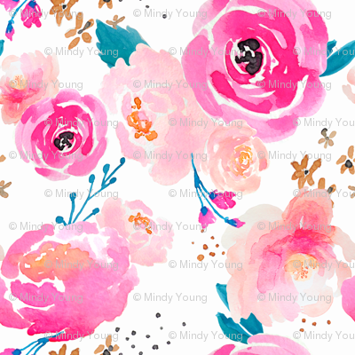 Indy Bloom Design Punchy Florals A
