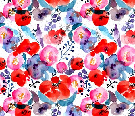 Summer Nights fabric by olivia_henry on Spoonflower - custom fabric