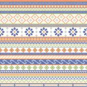 Fairisle Flower Pattern