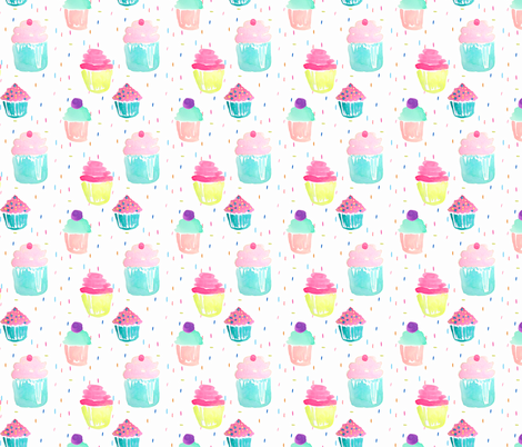 Indy Bloom Design Birthday Sprinkles fabric by indybloomdesign on Spoonflower - custom fabric