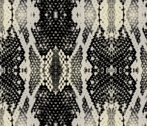 Snake_Skin_Print_2 fabric by porshawebb on Spoonflower - custom fabric