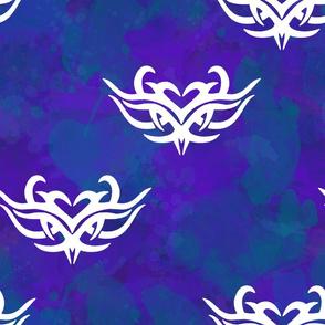 Tribal Watercolor Batik