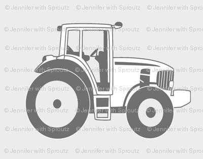 Tractors in Gray