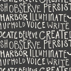 In Writing in Persist Colorway