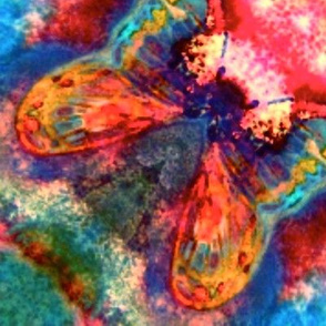 Butterfly Tapestry - The Chrysalis Opens