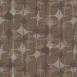 Geometric Diamond Taupe Brown Chocolate Abstract Home Decor_Miss Chiff Designs