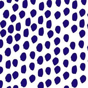 indigo spots dots polka dots brush strokes preppy kids indigo summer shibori dye kids