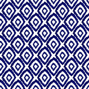 ikat indigo simple kids painted  hand-drawn hand-painted dye indigo blue summer tropical