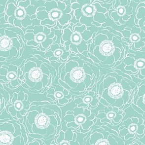 mint spring flowers florals flower kids baby nursery